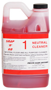 #1 Neutral Floor Cleaner