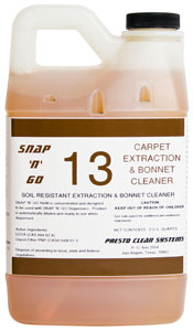 #13 Carpet Extraction/Bonnet Cleaner