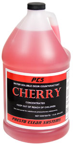 Cherry Scented Water Soluble Odor Counteractant