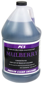 Mulberry Scented Water Soluble Odor Counteractant