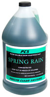Spring Rain Scented Water Soluble Odor Counteractant