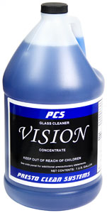 Vision Glass Cleaner Concentrate